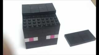 How to make Lego Minecraft Enderman