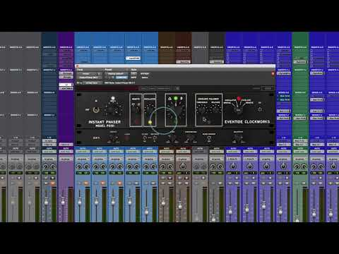 Eventide - Instant Phaser Mk II - Mixing With Mike Plugin of the