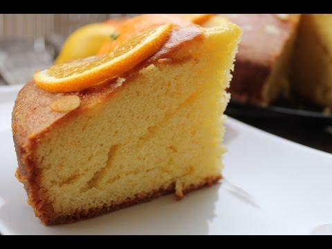 Gâteau moelleux à l'orange facile