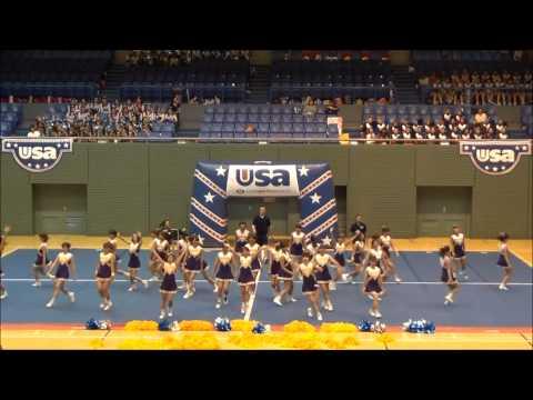 南山大学応援団チアリーダー部 KOALAS usa nationals School&College competition 2013