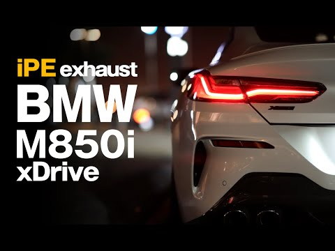 BMW M850i xDrive with 200 Cell Sport Cat