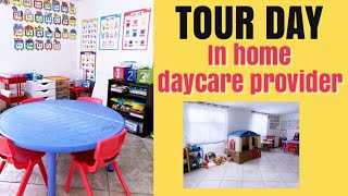 Day in the life of an In Home Daycare Provider - Touring Potential Family