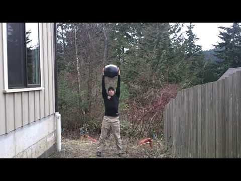 Med Ball Overhead Press | Firefighter Workout | CPAT