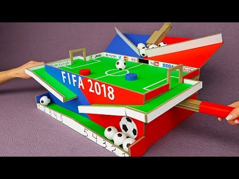 How to Build Amazing Football Table Game for 2 Players