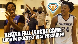HEATED MATCHUP HAS A CRAZY FINISH!!   South Florida POWERHOUSES Battle in Fall League