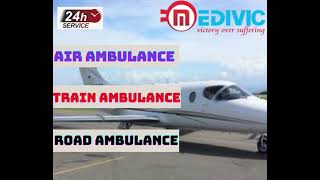 Book Credible Air Ambulance Service in Jamshedpur by Medivic