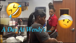 A Day At Wendy's.. 🤣🤕 **Must Watch**