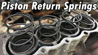 How to Replace Piston Return Springs (and Head Gasket)