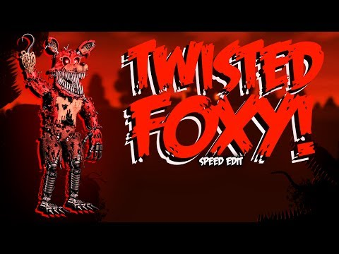 Twisted Wolf | Speed Edit! | Five Nights at Freddys PT/BR Amino