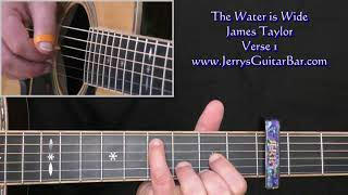 James Taylor The Water is Wide Intro Lesson