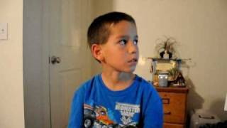 My 7 year old son singing Hold On Loosely by 38 Special