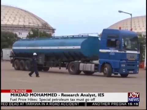 Fuel Price Hikes   The Pulse on JoyNews 18 9 18