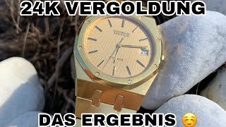 ROYAL OAK DUGENA VERGOLDET UNSER PROJEKT