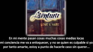 Aventura - Conciencia (lyric - letra)