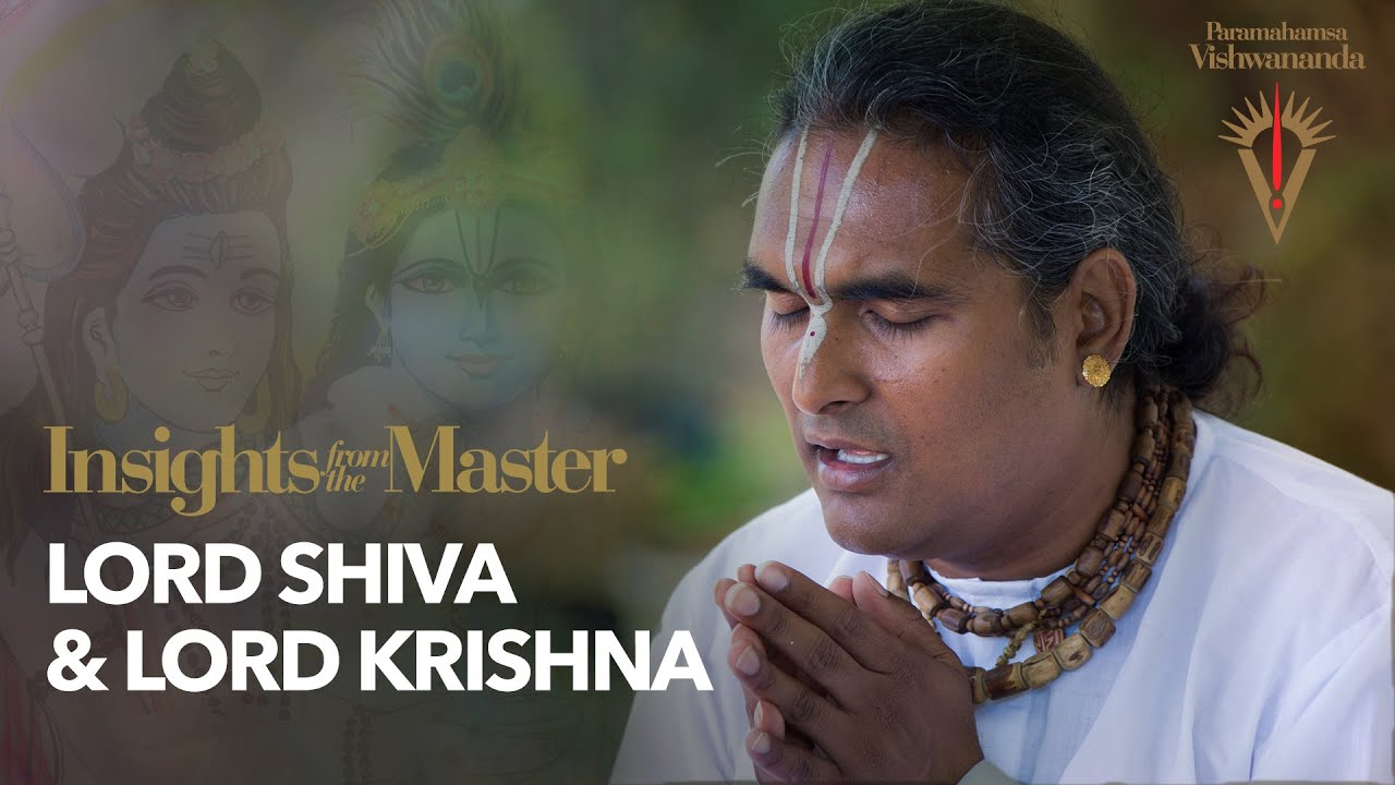 Lord Shiva & Lord Krishna | Insights from the Master