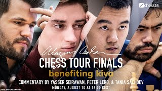 Carlsen Vs. Ding Liren | Nakamura Vs. Dubov | MCCT Semi-finals | Day 2