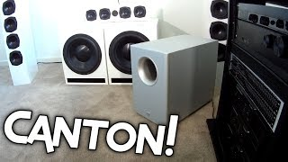 WHATS INSIDE? - CANTON SUBWOOFER!