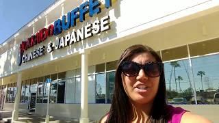 Hokkaido Buffet comendo em Orlando
