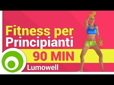 Sistema di esercizi nella palestra per perdita di peso
