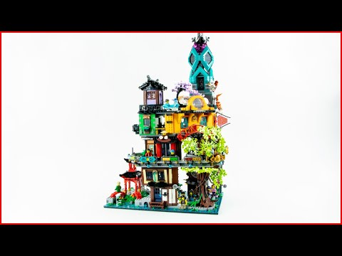 Vidéo LEGO Ninjago 71741 : Les jardins de la ville de Ninjago