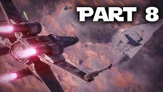 Star Wars Battlefront 2 Gameplay Walkthrough Part 8 - BATTLE OF JAKKU (Single Player Campaign)