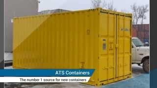 preview picture of video 'Shipping containers in Montreal from ATS Containers'