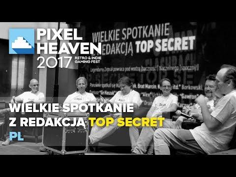 Wielkie spotkanie z redakcją Top Secret @ Pixel Heaven 2017 (pl)