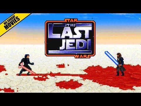 "hqdefault - ""Star Wars: The Last Jedi"" al estilo de un videojuego de 8 bits"