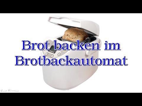 Brot backen im Brotbackautomat