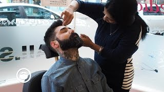 How to get Sharp Cheek Lines without Shaving | Carlos Costa