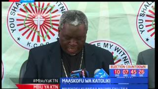 Maaskofu wa Katoliki watoa wito wa amani wakati wa uchaguzi
