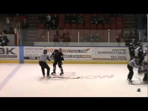 Hubert Poulin vs. Sylvain Deschatelets