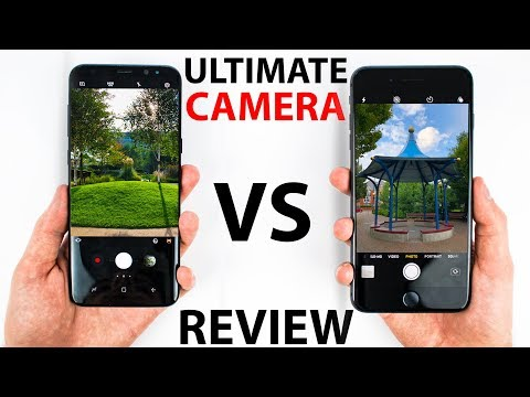 iPhone 8 Plus VS S8 Plus – CAMERA Review!