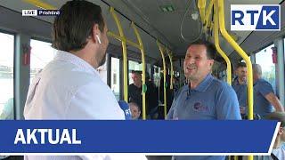 Aktual - Linja e autobusit Hajvali - Prishtinë 15.10.2019