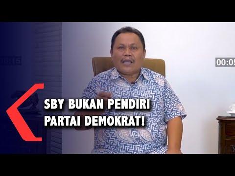 Jhoni Allen Sebut SBY Bukan Pendiri Partai Demokrat