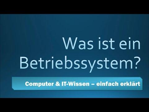 Was ist ein Betriebssystem? Computer & IT-Wissen einfach erklärt