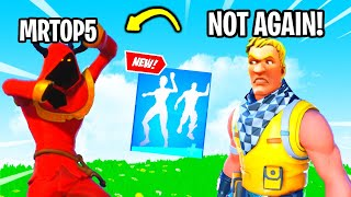 """Mrtop5 Trolled Me With NEW """"Last Forever"""" Emote.. (Fortnite)"""