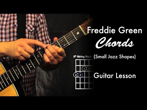 Freddie Green Chords (Small Jazz Shapes)