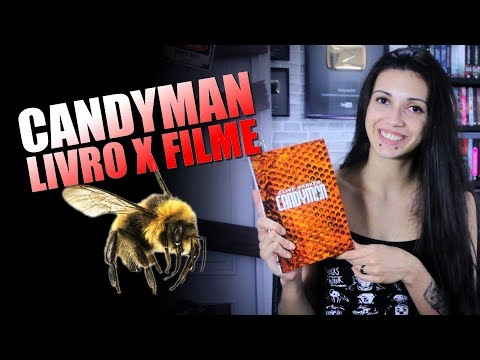 CANDYMAN FILME X LIVRO DARKSIDEBOOKS