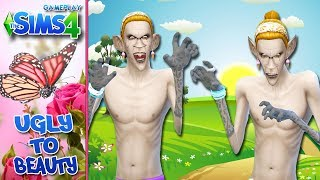 The Sims 4 com Facecam - Ugly to Beauty #22 - VAMPIRO POP STAR