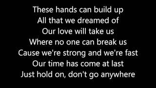 Taio Cruz: World in our Hands (Lyrics)