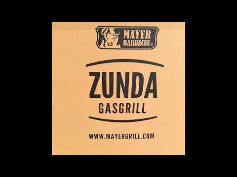 ZUNDA GASGRILL MGG-362 MASTER MIT BACKBURNER - Mayer Barbecue - BBQ - unboxing - erste Eindrücke