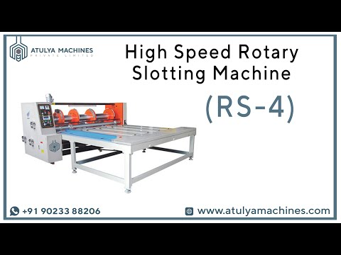 Rotary Creasing & Slotting Machine (RS4)