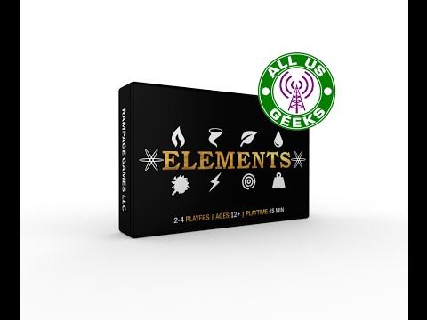 All Us Geeks Initial Impressions: Elements