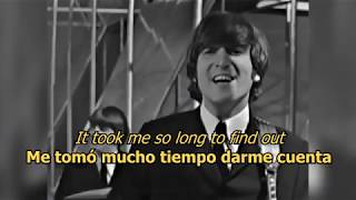 Day tripper - The Beatles (LYRICS/LETRA) [Original] (+Video)