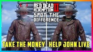 What Happens To Micah If You Take The Money OR Help John In Red Dead Redemption 2? (SECRET Ending)