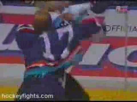 Marty McSorley vs. Wendel Clark