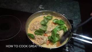 Garlic Chicken Cream Sauce Recipe - Easy to cook