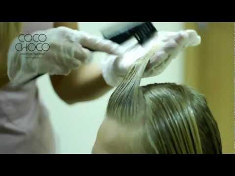Cocochoco кератиновое  выпрямление волос. Обучающий ролик