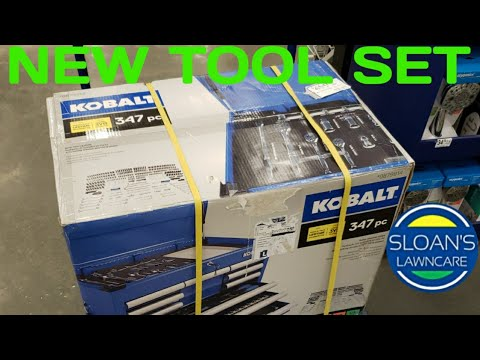 102949ac5 New Kobalt Tool Set